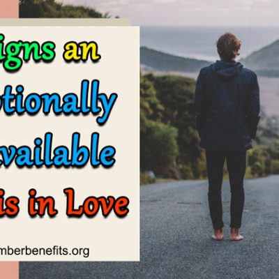 4 Signs An Emotionally Unavailable Man Is In Love