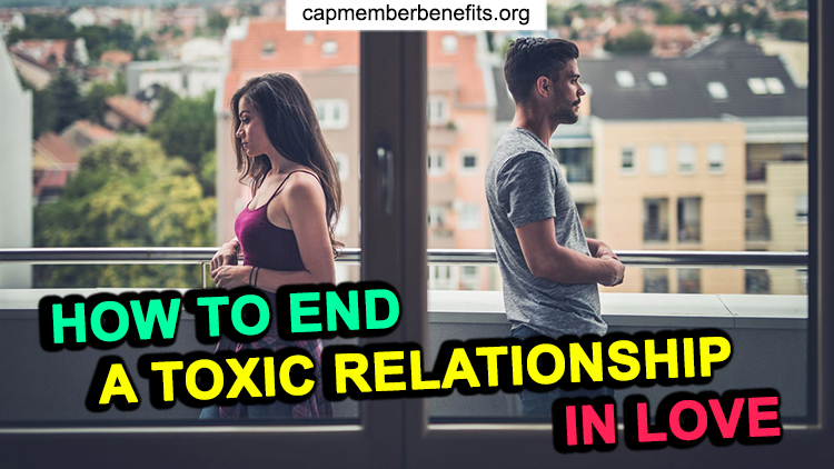 guide to end a toxic relationship