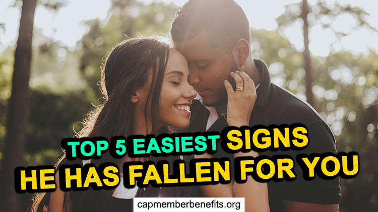 Top 5 Easiest Signs He Has Fallen for You (Find out NOW)