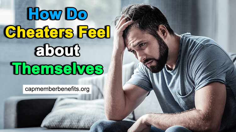 cheaters feel about themselves