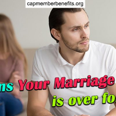 5 Signs Your Marriage is over for Men (When to Get Out?)